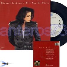 "MICHAEL JACKSON ""WILL YOU BE THERE"" RARE 45RPM + POSTER"