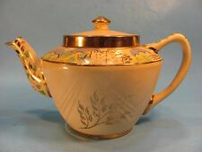 Vintage Yellow Hand Painted English Teapot