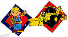 "8"" BOB THE BUILDER TRUCK CHARACTER NOVELTY PEEL STICK WALL BORDER CUT OUT"