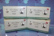4 BOXES TE CHINO del DR MING 120 BAGS,slimming detox slimming tea colon cleanse