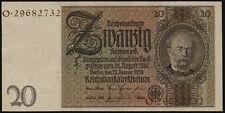 Ro.174F 20 Reichsmark 1929 (2) braune Kennnummer