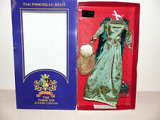 Franklin Mint Knighthood Green And Gold Ensemble For The Vinyl Guinevere Doll