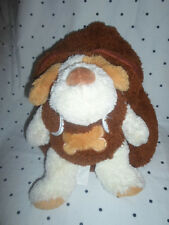 """Pecoware Removable Puppy Dog Backpack 12""""  Plush Soft Toy Stuffed Animal"""