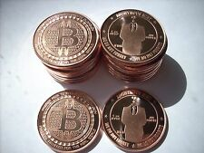 20-1 OZ COPPER COINS BITCOIN ROUND *ANONYMOUS MAN* ANONYMOUS MINT COIN 1-5-100