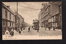 St. Helens - Baldwin Street and Co-operative Stores - printed postcard