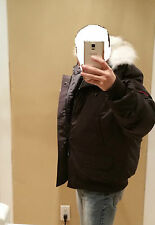 "2017 ""LATEST CONCEPT"" RED LABEL CANADA GOOSE CHILLIWACK BLACK XXL BOMBER PARKA"