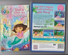 DORA EXPLORER DORA SAVES THE MERMAIDS PLAYSTATION 2 PS2 PS 2