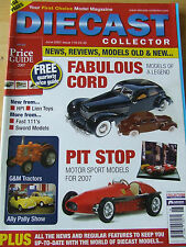 DIECRAFT COLLECTOR MAGAZINE JUN 2007 ISSUE 116 FABULOUS CORD LION TOYS GM TRACTO