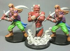 Dungeons & Dragons Miniatures Lot  Efreeti & Djinni Classic Encounters !!  s85