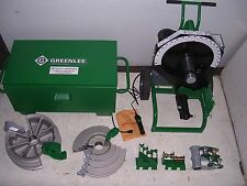 GREENLEE 555 CXRE 854 855 Conduit Pipe Bender EMT RIDGID IMC  2 SHOES 3 ROLLERS