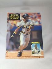 Beckett Baseball Card Monthly #68 Barry Bonds November 1990