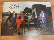 TEEN TOP - Teentop Class [ORIGINAL POSTER] *NEW* K-POP