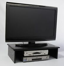 "LARGE BLACK TV RISER 26""widex14""deep x 7"" high REAL Oak Wood by SyracuseTvRisers"