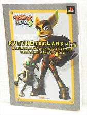 RATCHET & CLANK 4 4th Official Final Guide PS2 Book EB41*