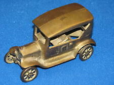 Brass Vintage Old Metal Ford ? Model A T Car Automobile Figurine Delivery Truck