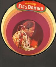 "FATS DOMINO Jambalaya PICTURE DISC 12"" 10 track Blueberry Hill Heartbreak Hotel"