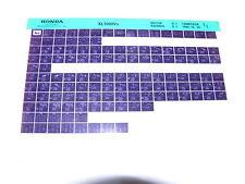 Microfich Ersatzteilliste _ XL 1000 V _ XL1000 Varadero _ SD01 _ Baujahr 1999