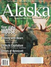 Alaska Magazine Jul 2000 Year of the Moose, Running with Bears, Ghosts & More