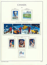 CANADA 2005 LIGHTHOUSE page 2005.13 - CHRISTMAS, SEARCH & RESCUE Etc. - MNH