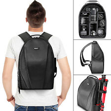 Vivitar Camera Backpack Bag for DSLR and Lens - Padded Case for Canon Nikon