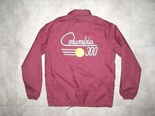 Vintage King Louie COLUMBIA 300 Bowling Bowler Maroon Light Jacket USED Small S