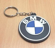 1xNEW BMW CAR SPORT KEYCHAIN RUBBER FOR UNISEX WITH CHARM SOUVENIRS DAY RU111