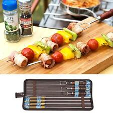 Simple 7 piece/set  Stainless Steel  Grill Fork Outdoors Cooking