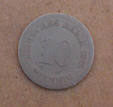 10 peniques Deutsches Reich 1875 (mea39)