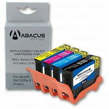4-PACK High-Capacity Ink Cartridge Set (Series 31) for Dell V525w Printer