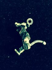 Sterling Silver Disney LE Moving Springing Tigger Tiger Charm Winnie The Pooh