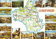 BR49941 Aveyron map cartes geographiques    France
