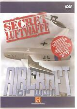 SECRET LUFTWAFFE AIRCRAFT OF WWII DVD - THE HISTORY CHANNEL
