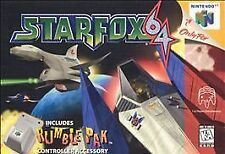 STARFOX STAR FOX GAME SYSTEM NINTENDO N64 N 64 NES HQ