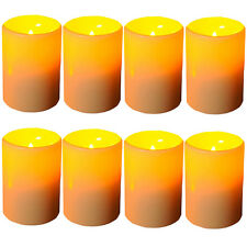 New 8 PCS LED Flameless Tealights Battery Operated Flickering Tea Light Candles