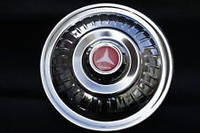 "VESPA VLB VBB GL PX VBC GS 8"" 10"" Stainless Steel Spare Wheel Cover Trim Red"