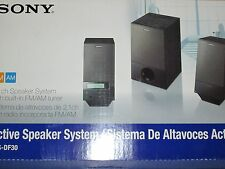 SONY SRSDF30 2.1ch PC Speakers with Radio: SRS-DF30 NEW