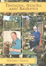 OWEN CRAFTS & SELF SUFFICIENCY BOOK HEDGES STICKS & BASKETS paperbacks new