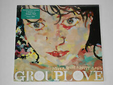 GROUPLOVE  Never Trust A Happy Song  LP SEALED