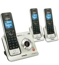 HOME MULTI-ROOM CORDLESS PHONE SYSTEM 4 FOUR TOTAL WIRELESS HANDSETS VTECHLS6425