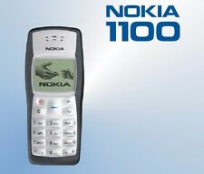 Nokia 1100 Mobile Phone With Nokia Battery&compatible Charger & Nokia universBOX