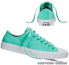 Womens Boys CONVERSE All Star CHUCK 11 NEON TEAL GREEN Trainers Shoes UK SIZE 4