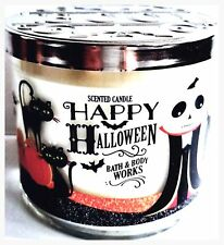 Bath & Body Works Sweet Cinnamon Pumpkin 3 Wick Candle 14.5 oz ​Halloween