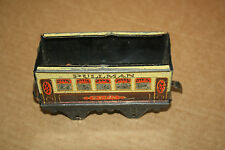 A beautiful  OLD TINPLATE TOY as  DESK or BOOKCASE ORNAMENT Hornby 'O' gauge zaa