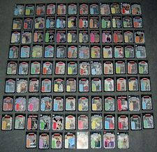 Vintage Star Wars 104 X COMPLETE SET,LOT.MINI BACKING CARDS,DISPLAY,HAVE FIGS.4
