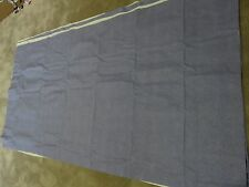 Duck egg blue lined thermal blackout remnant crafts fabric piece 160x80cm