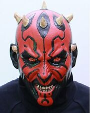 Star Wars Darth Maul Rubber Mask Cosplay Party Toy Halloween Made in Japan
