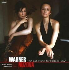 BRAND NEW SEALED Russian Music for Cello & Piano CD 2010 Cedille Records JZ1177