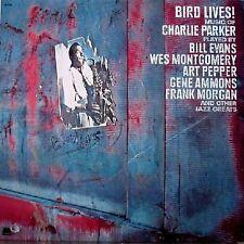 Charlie Parker, Bill Evans, Gene Ammons / Bird Lives! - Vinyl LP (cut-out)