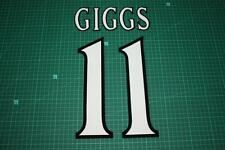 Manchester United 99/02 #11 GIGGS UEFA Chaimpons League HomeKit Nameset Print