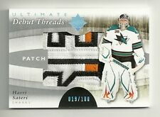 2011-12 Ultimate Collection Debut Threads Patch # 19 of 100 HARRI SATERI
